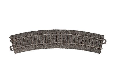 Gleis, gebogen, r 360 mm,30° <br/>Märklin 024130