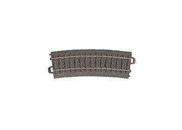 Gleis, gebogen,  r437,5 mm, 15° <br/>Märklin 024215 1