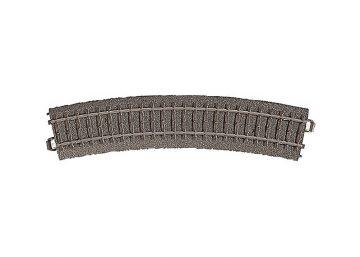 Gleis, gebogen, r 437,5 mm, 24,3° <br/>Märklin 024224 1