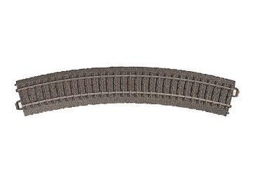 Gleis, gebogen, r 437,5 mm, 30° <br/>Märklin 024230 1