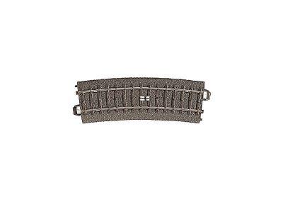 Schalt-Gleis, gebogen, R437,5 mm,15 <br/>Märklin 024294