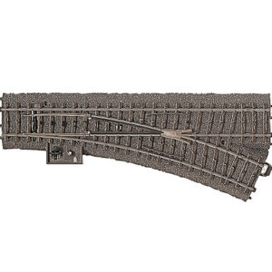 Weiche rechts r437,5 mm,24,3 Märklin 024612