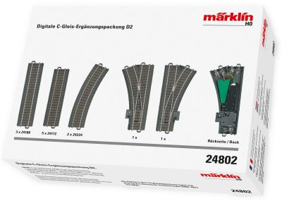 Digitale C-Gleis Erg.pack.D2 <br/>Märklin 024802
