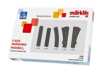 Ergänzungs-Packung C-Gleis C2 <br/>Märklin 024902 1