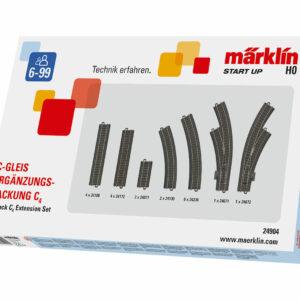 C-Gleis Ergänzungs-Packung C4 Märklin 024904
