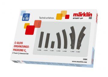 C-Gleis Ergänzungs-Packung C4 <br/>Märklin 024904 1
