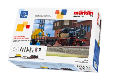 Startpackung BR 74 mit Güterzug <br/>Märklin 029166 1
