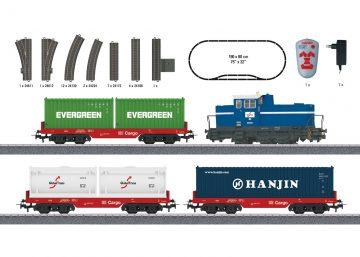 Startpackung Containerzug <br/>Märklin 029452 2