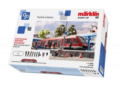 Startpackung Moderner Nahverk <br/>Märklin 029641