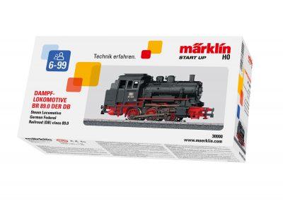 Dampf-Lokomotive BR 89 DB, Epoche III <br/>Märklin 030000
