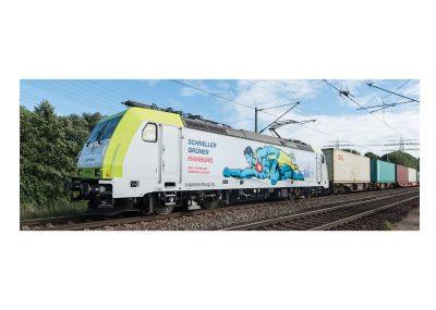 Elektro-Lokomotive BR 185 Captrain 150 J.H <br/>Märklin 036634