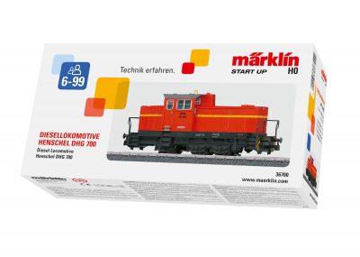 Diesel-Lokomotive DHG 700 <br/>Märklin 036700