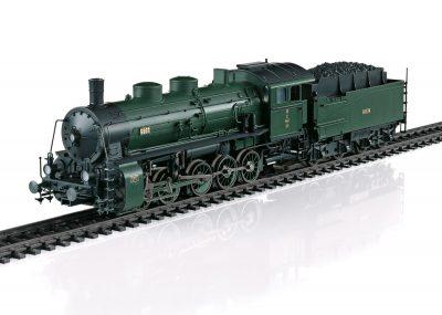 Dampf-Lokomotive, Güterzug G 5/5 Bayer <br/>Märklin 039551