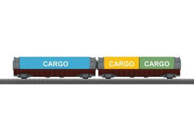 Containerwagen-Set <br/>Märklin 044109
