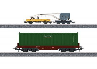 Wagen-Set Containerverladung <br/>Märklin 044452