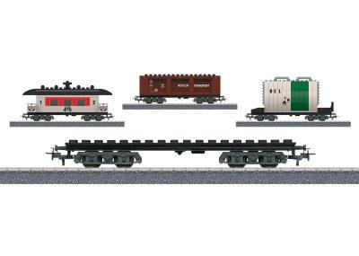 Bausteinwagen mit 3 Baumöglichkeiten <br/>Märklin 044736