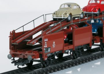 Autotransportwagen-Paar Off 52 D <br/>Märklin 046128 2