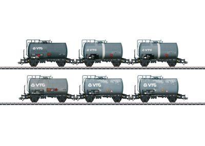 Kesselwagen-Set VTG gealtert <br/>Märklin 046436