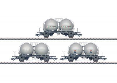 Kugelbehälterwagen-Set NS <br/>Märklin 046626
