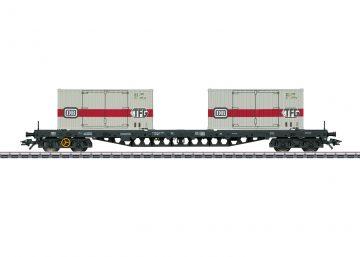 Tragwagen mit Container DB <br/>Märklin 047048 1