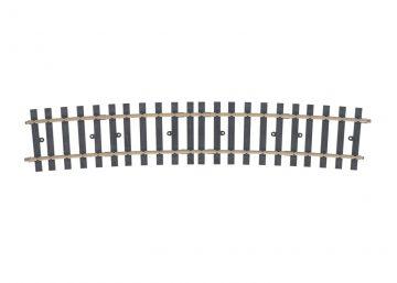 Gleis, gebogen, r 2461 mm, 10° (H1079) <br/>Märklin 059071 1