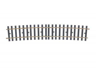 Gleis, gebogen, r 2461 mm, 10° (H1079) <br/>Märklin 059071