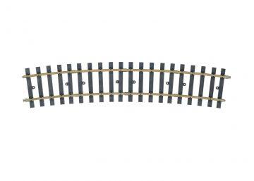 Gleis, gebogen, 15° 1550 mm(H1100) <br/>Märklin 059074 1