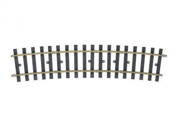 Gleis, gebogen, r 1394 mm, 15° (H10 <br/>Märklin 059075 1