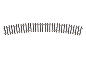 Gleis, gebogen, r 1715 mm, 22,5° (H107 <br/>Märklin 059077 1