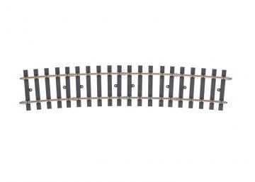 Gleis, gebogen, r 2321 mm, 10°, (H1008) <br/>Märklin 059078 1