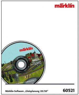 Märklin-Softw.Gleisplanung 2D <br/>Märklin 060521