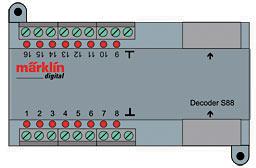 Zubehör-Decoder s88 (RJ45) <br/>Märklin 060881
