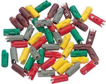 Stecker, grün, 10 Stück <br/>Märklin 071413 1