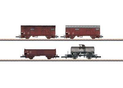 Wagen-Set Gütertransport DR <br/>Märklin 082041