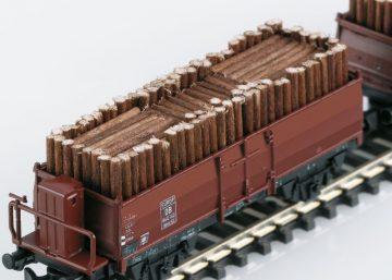 Güterwagen-Set Holzverladung <br/>Märklin 086238 1