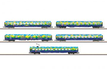 Wagen-Set Touristikzug DB AG <br/>Märklin 087303 1