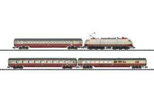 Zugpackung Rheingold TEE 7 mit <br/>TRIX 11628
