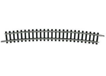 Gleis, gebogen, R5, 15° <br/>TRIX 14918 1