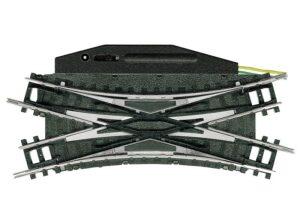Doppelkreuzungsweiche mit elektromagnetischem Antrieb R <br/>TRIX 14968