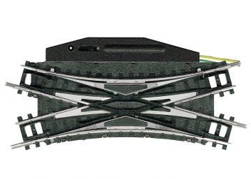 Doppelkreuzungsweiche mit elektromagnetischem Antrieb R <br/>TRIX 14968 1