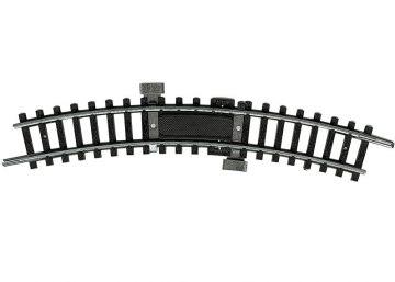 Anschluss-Gleis mit Entstör-Kondensator, R1, NICHT für Digitalbetrieb! <br/>TRIX 14972 1