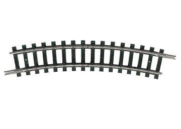 Trenn-Gleis, gebogen, R1 <br/>TRIX 14984 1