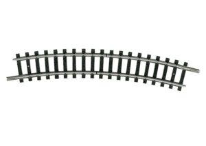 Trenn-Gleis, gebogen, R2 <br/>TRIX 14986