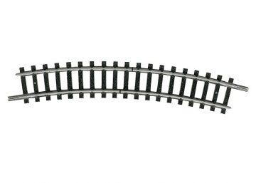 Trenn-Gleis, gebogen, R2 <br/>TRIX 14986 1