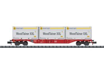 Containertragwagen mit 3 Woodt <br/>TRIX 15519 1