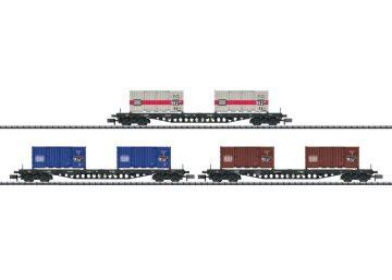 Güterwagen-Set Containertrans <br/>TRIX 15961 1