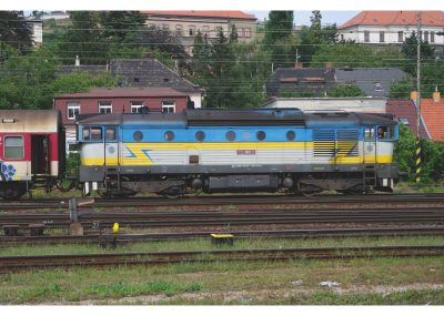 Diesel-Lokomotive Serie 750 ZSSK <br/>TRIX 16733