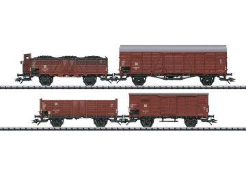 Güterwagen-Set DR/DDR <br/>TRIX 24128 1