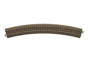 Gleis, gebogen, r 579,3 mm, 30° <br/>TRIX 62430 1
