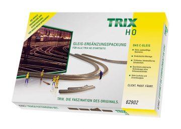 C-Gleis-Ergänzungs-Packung C2 <br/>TRIX 62902 1